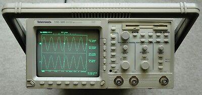 Tektronix Tds380 400mhz Digital Oscilloscope Calibrated Power Cord Works Great