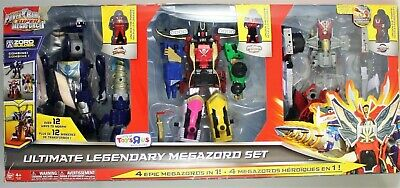 Power Rangers Super Megaforce Action Figure 3-Pack Ultimate Legendary Megazord (Power Rangers Super Megaforce Legendary Megazord Figure)