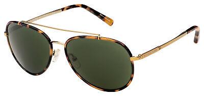 Michael Kors Ida Sunglasses MK 1019 116371 59 Havana / Gold | Green (Michael Kors Green Sunglasses)