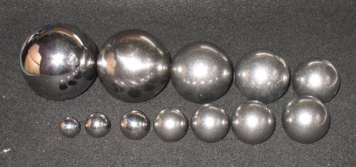 12 Ball Multi-Size Set Chrome & Carbon Steel Balls For Dent Removal