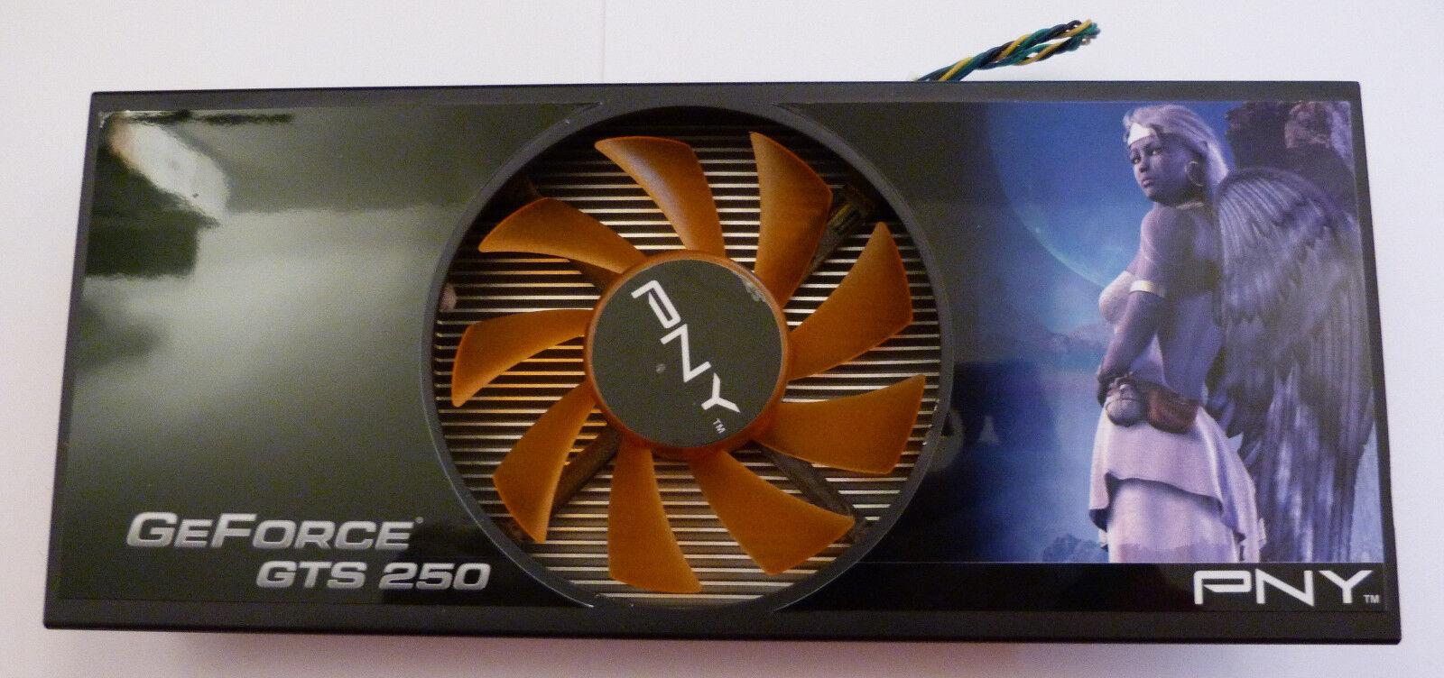 NVIDIA GeForce GTS 250 Grafikkarten Kühler, Lüfter + Zubehör, Wärmeleitpaste