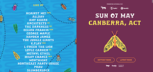 2x tickets to Groovin The Moo CANBERRA Acton North Canberra Preview