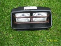Yamaha Big Bear headlight and grill