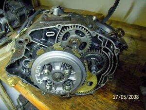 Yamaha Big Wheel 200 BW200 XT200 crank crankcase clutch