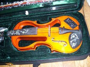 4/4 New Electric Violin St. John's Newfoundland image 1