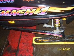 Skidoo Mach Formula lll MXZ trailing arm control arm DSA suspens
