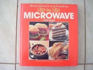"""Livre de Cusine Micro-Ondes """"Better Home and Garden"""" en Anglais"""