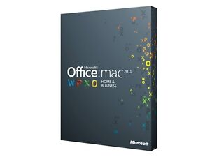 Microsoft Office 2011 for Mac - Home and Business 5 MAC Installs