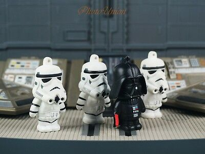 Star Wars Darth Vader Anakin Stormtrooper Figur Tortenfiguren Kuchendekoration D ()