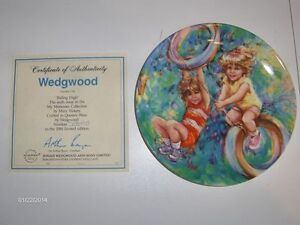 """""""My Memories"""" Wedgewood Collector plates - Complete Set! Strathcona County Edmonton Area image 6"""