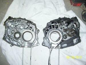 Honda XR200 crankcases engine cases crankcase