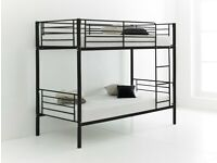 ☀️☀️CALL NOW FOR SAME DAY☀️☀️METAL BUNK BED SINGLE BOTTOM AND TOP STANDARD 3FT SIZE BUNK BED