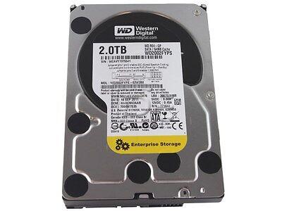 "2TB 3.5"" Inch SATA WD RE4-GP 7200RPM 64MB Cache Desktop Internal Hard Drive"