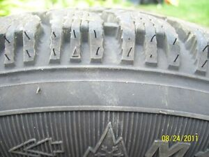 13 inch Winter tires Goodyear Nordic 175/70 R13