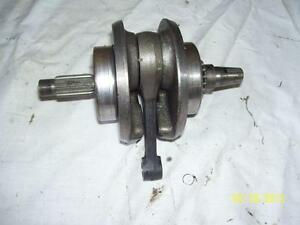 Honda XR200 crank crankshaft