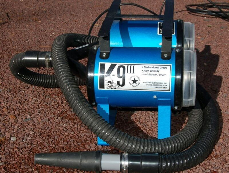 K-9 III High Velocity Dog/Pet Grooming Dryer- Colors -Manufacturer Distributor