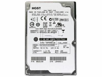 HGST  1.2TB 10K 2.5