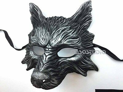 Wolf Animal Spirit Halloween Costume Wall Decoration Masquerade Mask](Spirit Halloween Masquerade Mask)