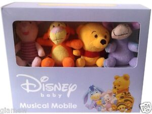 Brand New Winnie the Pooh Baby Crib Musical Mobile, Great Gift Free Shipping