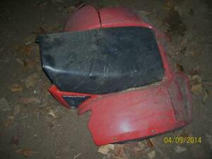 Honda 185S seat and rear fenders