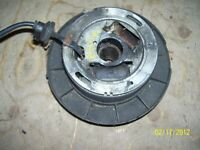 Yamaha Bravo stator flywheel with fan