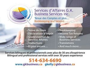BOOKKEEPING AND ACCOUNTING SERVICES West Island Greater Montréal image 1