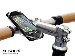 Networx Finn Fahrrad Universal Halterung für Smartphone inkl. App *Neu*Händler*