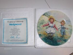 """""""My Memories"""" Wedgewood Collector plates - Complete Set! Strathcona County Edmonton Area image 2"""