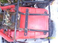 Honda Big Red 250  fender wheel forks frame