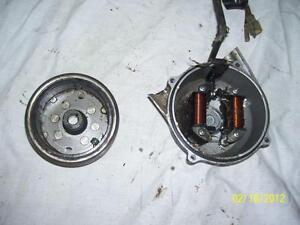 Honda XR80 stator magneto flywheel rotor
