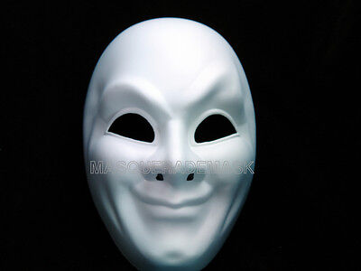 Blank White Masquerade Prom Party Mask DIY Create your own Mask Base Resin