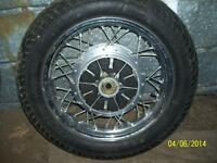 Suzuki Intruder chrome wheels matched pair 19 in 15 in LIKE NEW