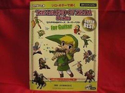 The Legend of Zelda BEST Guitar Sheet Music Book (Best Legend Of Zelda Music)