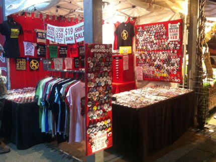Button Badge & T-Shirt Market Stall Business in Brisbane est 2004 South Brisbane Brisbane South West Preview