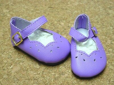 Doll Shoes, 46mm LIGHT PURPLE Girl Dress for Ann Estelle, 10