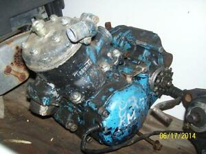 1982 Suzuki RM125 engine to part out crank head cylinder tranny