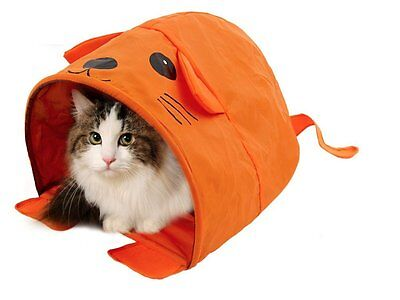 Pet  Tunnel Sleeping Bed for SMALL Cat Kitten Puppy Dog Pet Bed Training Toy
