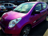 SUZUKI ALTO 2014 REG 19,000 MILES 1.0 PETROL 5 DOOR HATCHBACK MANUAL PINK