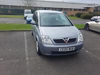 Vauxhall Meriva 1.7 diesel, 12 months MOT, low milage