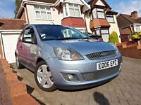 2006 Ford Fiesta 1.25 Zetec, Low Mileage, Full Service History, Cambelt Changed, 2 Keys, HPI Clear