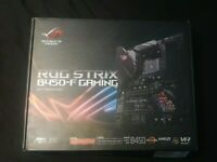 SOLD! ASUS ROG Strix B450-F Gaming ATX Motherboard, AMD Socket AM4