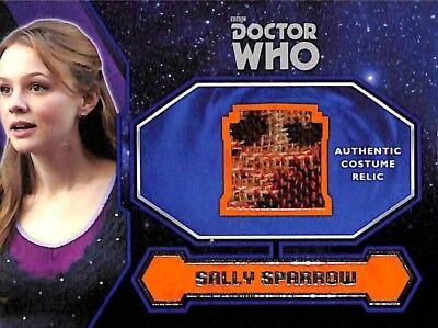 Doctor Who Kostüm Karte (2015 Doctor Who Kostüm Relic Karte Sally Spatzen Mantel A)
