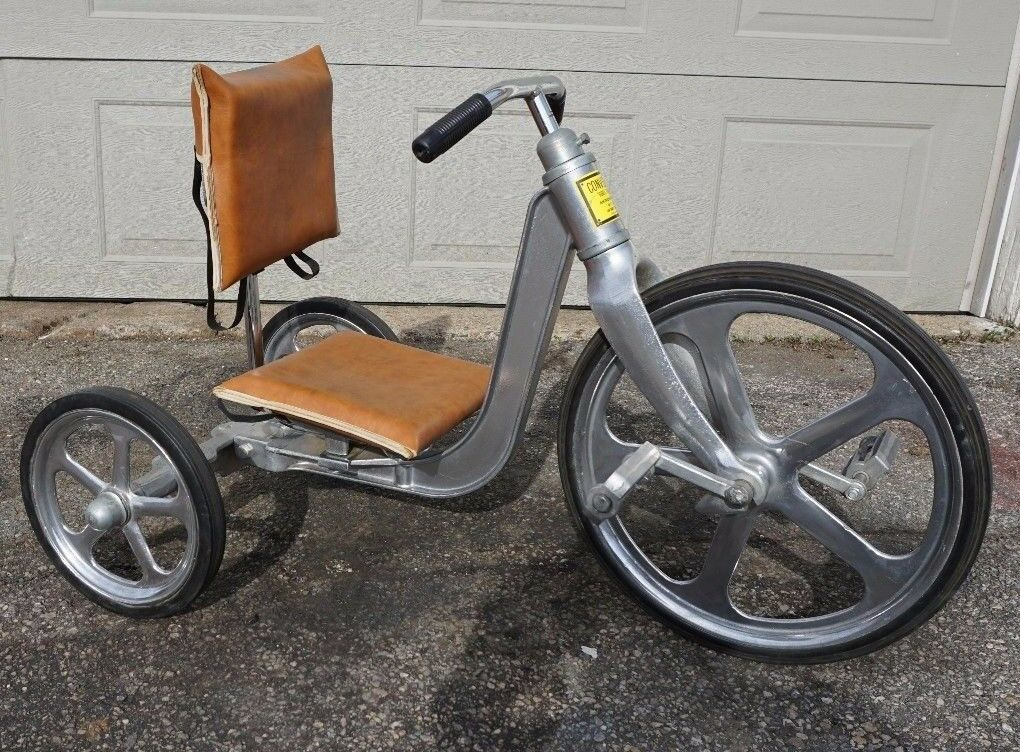 Vintage Anthony Brothers Convert-O Aluminum Lo Boy Tricycle (Used - 2300 USD)
