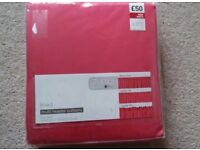 NEXT fuschia pink lined curtains Brand new in pack 168x183 rr £50