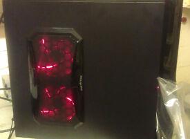 NEW BUILD AMD QUAD CORE DESKTOP PC 8GB RAM 240GB SSD FX-4100 3.6ghz amd radeon 5450 Gigabyte MB