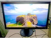 "Asus VS228HR 22"" Widescreen Full HD HDMI LED Monitor"