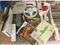 NINTENDO WII GAMES CONSOLE PACKAGE, BARGAIN. NO OFFERS, CALLS ONLY