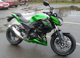 Kawasaki Z300 ER300BFF, 2015, genuine low mileage
