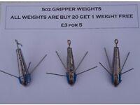 5 Ounce Fishing Breakaways Grippers (Sinkers)