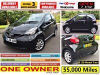 2007 Toyota Aygo 1.0 VVT-i Black 3dr ***FULL MOT***ONE OWNER SINCE 2009! CORSA POLO FIESTA KA C1 107